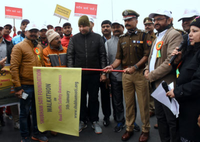 Walkathon_2018_road_safety_awareness_Shubham_Soti_Foundation_press_releases_Ashutsoh_Soti_Road_Safety_Lucknow_Uttar_Pradesh