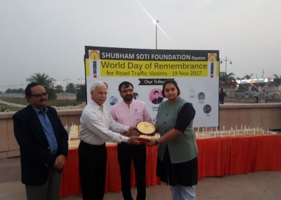 Shubham Soti Foundation organizes World Day of Remembrance for Road Traffic Victims - 19 Nov 2017 (7)